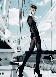 Up and Die: NAVAL STORY///Julia Nobis by Armin Morbach for TUSH magazine