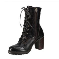 Bota Cravo e Canela Coturno 132301 - Brown (Medieval) - Calçados Online Sandálias, Sapatos e Botas Femininas | Katy.com.br