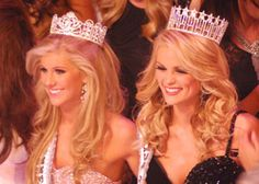 now that's some good pageant hair (Miss & Teen TN USA 2010)