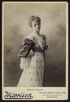 Actress Maude Adams.