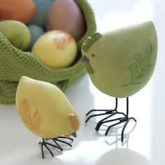 Easter decorations from Pentik Finland Here Comes Peter Cottontail, Penne, Happy Easter, Fundraising, Serving Bowls, Great Gifts, Country Style, Finland, Celebrations