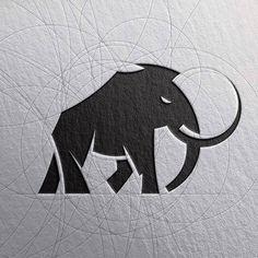 Ideas design logo inspiration adobe illustrator for 2019 Logo D'art, Art Logo, Logo Animal, Inspiration Logo Design, Elephant Logo, Doodles Zentangles, Stencil Art, Grafik Design, Art Design
