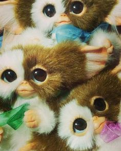 ads ads Gizmo (also often referred to as Giz by Billy) is an adorable, very kind Mogwai who is the pet of Billy Peltzer. Gremlins Gizmo, Les Gremlins, Scary Movies, Horror Movies, So Much Love, Peluche Stitch, Yoda Images, Minion Baby, Star Photography