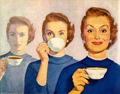 Coffee makes anyone happy!