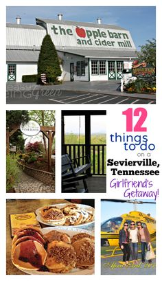 Traveling to Sevierville, TN with some of your best girlfriends?  Here's 12 things you MUST DO!
