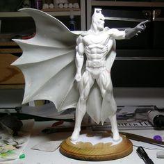 StatueCollectors.com :: Showcases :: Jason SpydaAdams :: The Sculpture Art of Jason Spyda Adams :: Batman Classic