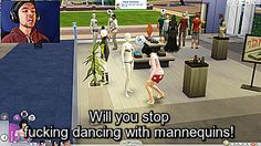 """jacksepticgifs: """"Some highlights from todays Sims 4 video with the Work DLC. Death works for the Boss now! """""""