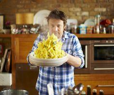 Jamie Oliver zucchini Carbonara