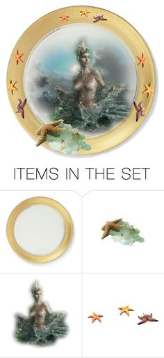 """""""Summer Plate"""" by kari-c ❤ liked on Polyvore featuring art"""