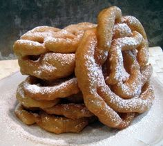 Diet Funnel Cake: The 100 Calorie Series