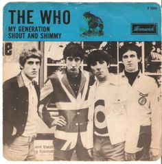 The Who Dutch 45 My Generation, very rare picture sleeve