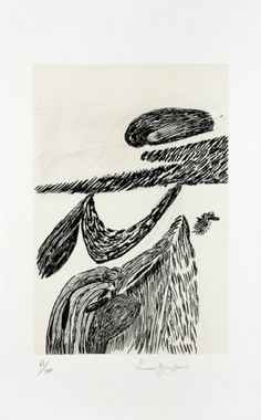Lithographie - Louise Bourgeois - Lithographie II