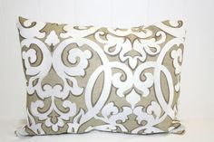 Hey, I found this really awesome Etsy listing at https://www.etsy.com/listing/181170875/waverly-tan-and-white-scroll-print