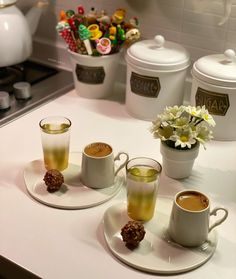 Easy Bread Recipes, Tea Recipes, Cooking Recipes, Coffee Presentation, Food Decoration, Turkish Coffee, Morning Food, Coffee Time, Healthy Drinks