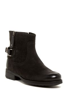 Rania Buckle Bootie by Manas on @nordstrom_rack