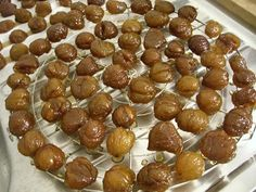 Nut Recipes, Fall Recipes, Sweet Recipes, Easy Cooking, Cooking Time, Bonbon Fruit, Ice Cream Candy, Sweet Sauce, Xmas Food