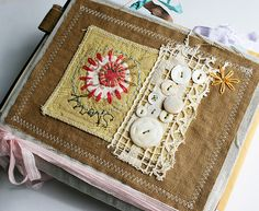 Art Quilt Journal (story) by Rebecca Sower, via Flickr
