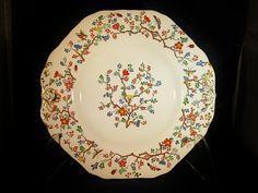 Vintage SPODE SHANGHAI  DESSERT plate by mytesoros on Etsy, $85.00