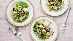 Hearts of Palm Salad with Creamy Avocado Dressing.