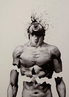 "Creative Self-taught Italian Artist ""Paolo Troilo"" uses his fingers to make Amazing Emotional Surreal Dark ""Black and White"" Paintings,surreal art, finger paintings Finger Paint Art, Finger Painting, Art Sketches, Art Drawings, Mädchen Tattoo, Italian Artist, Dark Art, Urban Art, Amazing Art"