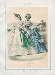 Peterson's Magazine August 1863 LAPL