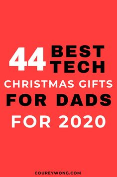 44 Cool Tech Gifts For Men | Boys will always love their toys no matter what age. That is why we compiled some of the best tech gadgets for the perfect tech gift for him. Do you need christmas gift ideas for dad? Check out our list of these cool gadgets and he'll love it whether he's a techie or not. So if he's into technology then this list of our 44 amazing tech gifts is the perfect guide. #techgiftsforhim #techgifts #giftideas #cooltech