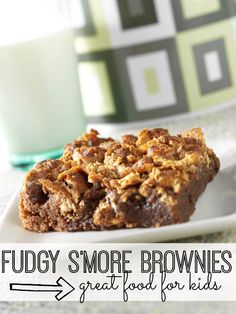 Combining the best of two desserts, these fudgy s'more brownies will have you coming back for seconds.