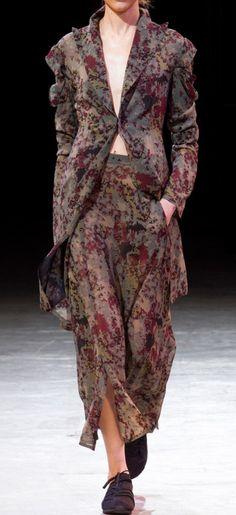 Yohji Yamamoto - RTW Spring 2014