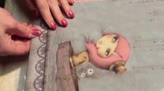 Santoro Mirabelle Adrift' Fabric Scrapbook Album