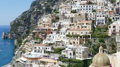 Positano, a commune in the province of Salerno, the Campania region of Italy, is an exclusive European destination that can give you all Regions Of Italy, European Destination, The Province, Positano, Paris Skyline, Travel Destinations, Positano Italy, Road Trip Destinations, Destinations