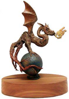 Smoke World by RickCainSculptor on Etsy, $450.00