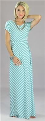 $44.99 this maxi is so cute!! perfect for summer, i want!! can't decide if i like the teal or gray better!