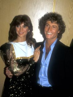 File Photo of Victoria Principal & Andy Gibb at the Pirates of Penzance play opening in Los Angeles, California on June 1981 Andy Gibb, Victoria Principal, Vintage Circus, Vintage Music, Recital, Celebrity Couples, Celebrity Photos, Oxford, Famous Couples
