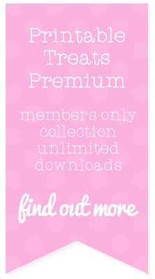 Printable Treats Premium