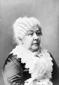 Elizabeth Cady Stanton receives credit for being one of the early forces of the Womens' Rights Movement. From co-founding the Seneca Falls Convention to leading the National Woman Suffrage Association and the National American Woman Suffrage Association