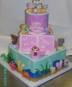 littlest pet shop cake ideas | LIttlest Pet Shop Cake — Birthday Cakes