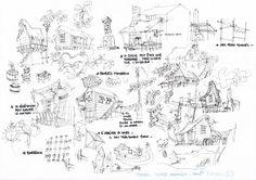 f*Parme: Famille Pirate - Série TV - Backgrounds (Partie 1)