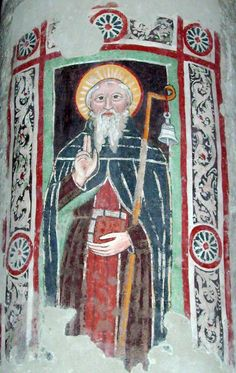Columbanus (Irish: Columbán, 543 – 21 November 615) was an Irish missionary notable for founding a number of monasteries on the European continent from around 590 in the Frankish and Lombard kingdoms, most notably Luxeuil Abbey in present-day France and Bobbio Abbey in present-day Italy. He is remembered as an exemplar of Irish missionary activity in early medieval Europe.
