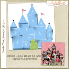 Princess and Knight for scrapbooking | ... Digital Scrapbooking and hybrid products by Penny Springmann Designs