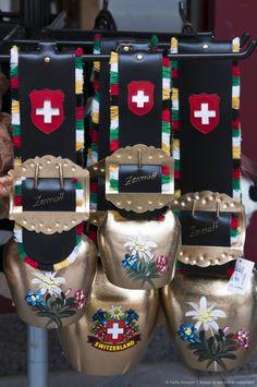 Cowbell souvenirs - Zermatt, Switzerland