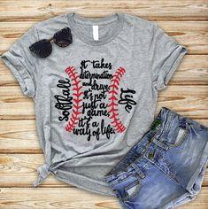 Baseball T Shirt Designs Baseball Mom Shirts, Baseball Dugout, Baseball Buckets, Sports Shirts, Baseball Sister, Baseball Field, Baseball Girlfriend, Baseball Party, Football