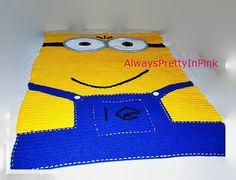 MINIONS  Minion blanket  Character Blanket  by AlwaysPrettyInPink