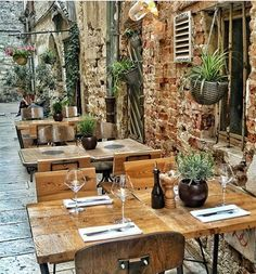 Wine bar in Split Croatia