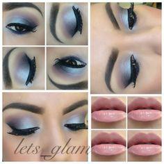 Blues & purple eyeshadows