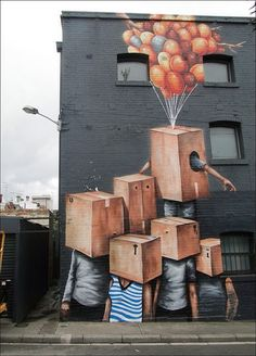 urban artists, street art, wall mural, murals, urban art, graffiti artists, street artists, fintan magee.