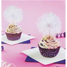 White Tulle Cupcake Picks | Shop Hobby Lobby