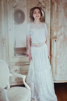 78bc96d1a9 romantyczna suknia ślubna. Grace - Kolekcja 2016. Polska marka ślubna -  Karolina Twardowska Atelier.