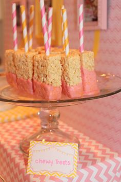 We Heart Parties: Party Information - Girly Pink and Yellow Puppy Birthday Party?PartyImageID=09c8f8ef-90ca-4d13-8455-2f8aa4246853