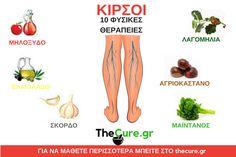 Πως να αντιμετωπίσετε τους κιρσούς με φυσικές θεραπείες. #Υγεία Movie Posters, Film Poster, Billboard, Film Posters