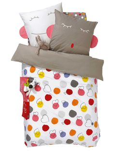 1000 images about housse de couette fille on pinterest for Drap housse vertbaudet